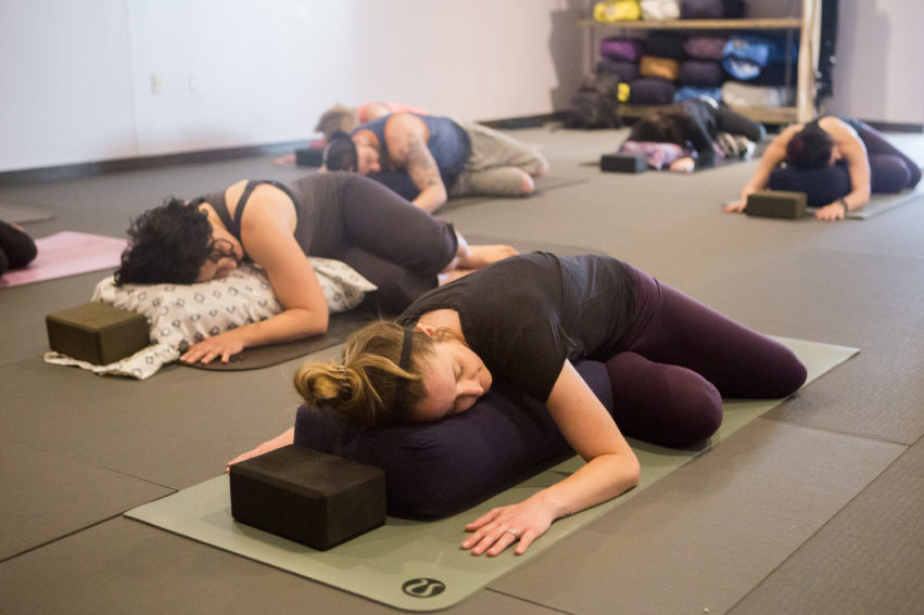 Restorative Yoga at Thrive